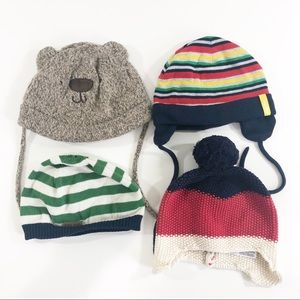 Lot of H&M and Gap kids beanies